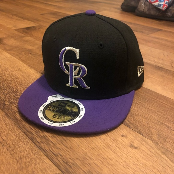 separation shoes 2df38 106b3 Colorado Rockies Kids New Era Fitted Cap
